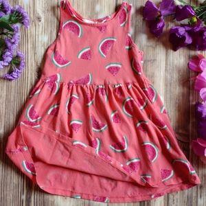H&M little girls 2 - 4 yrs watermelon summer dress